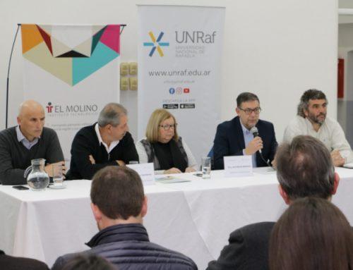El ITEC EL MOLINO firmó un Convenio con la Universidad Nacional de Rafaela